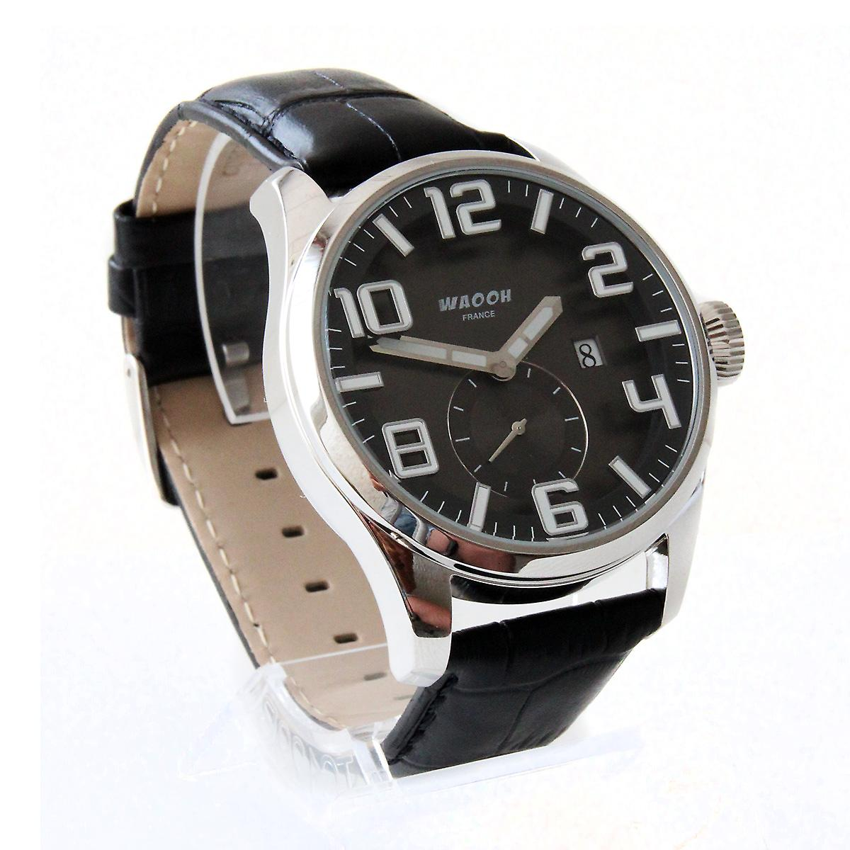Waooh - Elegant Leather Watch