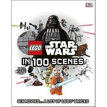 LEGO Star Wars in 100 Scenes by DK - 9780241189429 Book