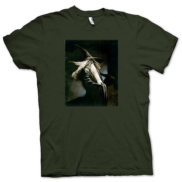 Heren T-shirt - Gandalf - Cool Fantasy