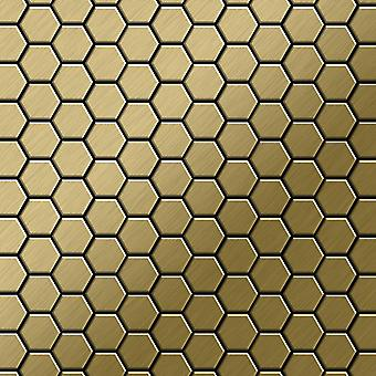 Metal mosaic Titanium ALLOY Honey-Ti-GB