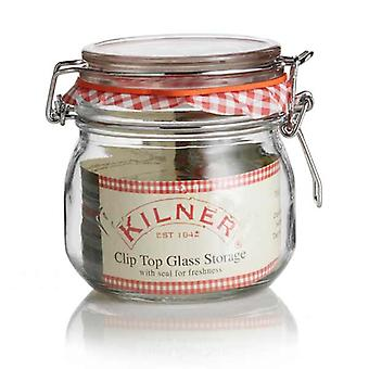 Kilner clip top jar (Round) 500ml (0.5 liter)