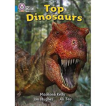 Dinosaures haut de la page: Bande 04/bleu (Collins Big Cat)