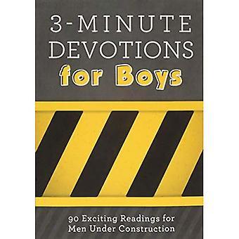 3 minuters andakt för pojkar: 90 spännande avläsningar för män Under konstruktion