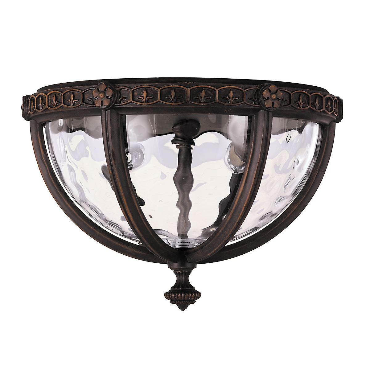Regent Court Flush Lantern - Elstead Lighting