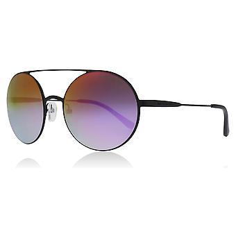 Michael Kors MK1027 1169A9 schwarz MK1027 Runde Sonnenbrille Objektiv Kategorie 3 gespiegelten Größe 55mm Objektiv
