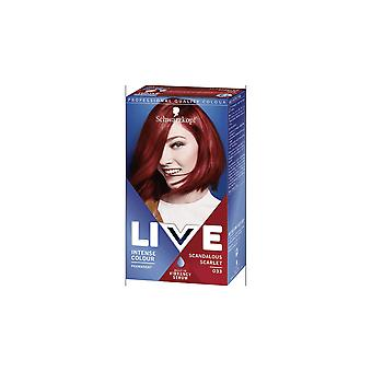 Schwarzkopf Live Colour - Scandalous Scarlet (033)