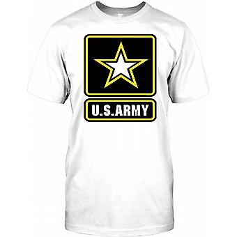 US Army militaire embleem - ster Mens T Shirt