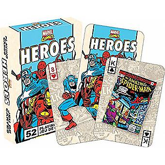 Marvel Heroes Retro set of playing cards    -nm52326-