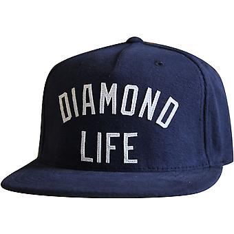 Diamond Supply Co Arch Snapback Navy