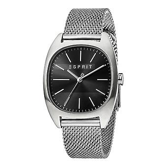 Esprit ES1G038M0075 Infinity Black Silver Mesh Men's Watch
