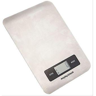 Morphy Richards Electronic Kitchen Scale White
