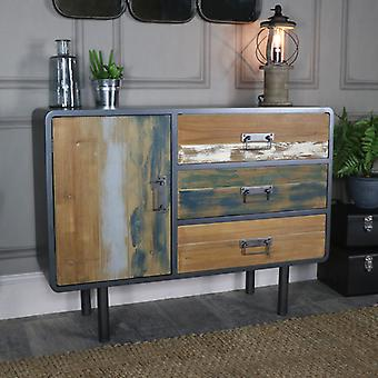 Large Retro Industrial Sideboard � Chicago Range