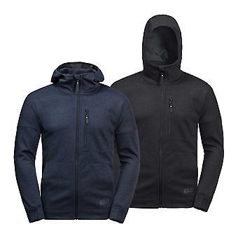 Jack Wolfskin Mens Riverland Fleece Hooded Jacket