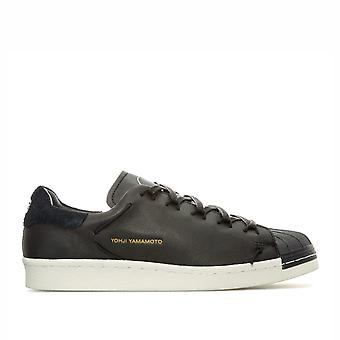 Mens Y-3 Super Knot Trainers In Black White- Lace Fastening- Rubber Shell Toe-