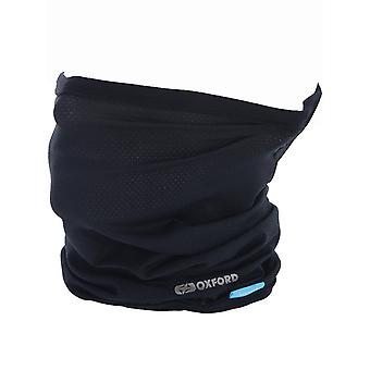 Oxford Black Coolmax Motorcycle Neck Warmer
