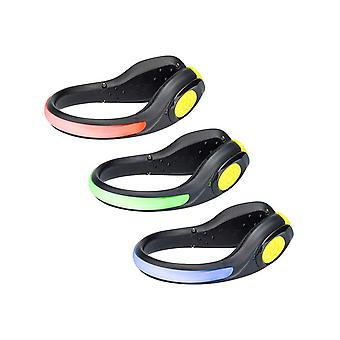 Nathan Black-Safety Yellow Lightspur RX Wearable Safety Light