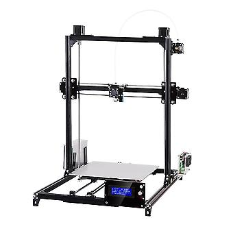 Flsun c plus desktop diy 3d printer with auto leveling double z-motors support flexible filament