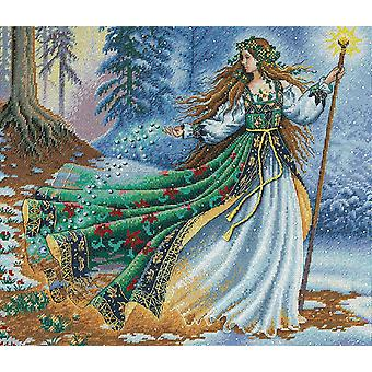 Gold Collection Woodland Enchantress Counted Cross Stitch Ki 14