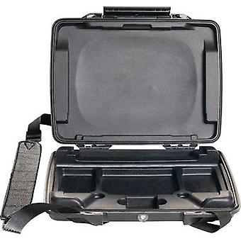PELI Laptop case i1075 2 l (W x H x D) 314 x 54 x 248 mm Black 1070-005-110E