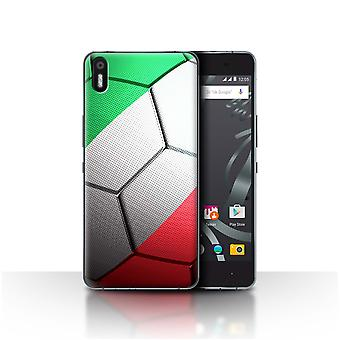 STUFF4 Case/Cover for BQ Aquaris X5/Italy/Italian/Football Nations
