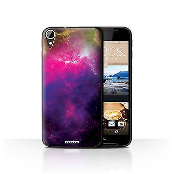 STUFF4 Case/Cover for HTC Desire 830/Purple Nebula/Space/Cosmos