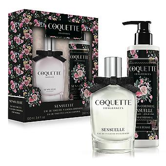 Coquette Edt 100 + in September Sensuelle Body Lotion 200 Ml