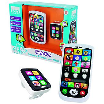 Cefa Kit and Mobile Phone Smartwatch (Toys , Educative And Creative , Electronics)