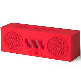 Warm Red Lexon Tykho Booster Bluetooth Speaker