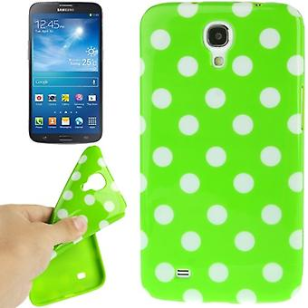 Protective case TPU points of case for mobile Samsung Galaxy mega 6.3 / i9200