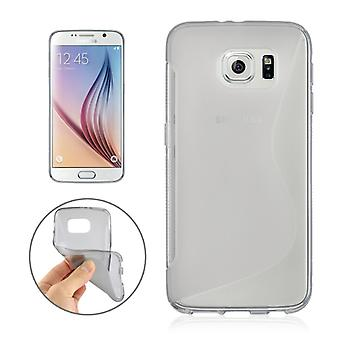 Mobile case TPU case for Samsung Galaxy S6 SM-G920F grey