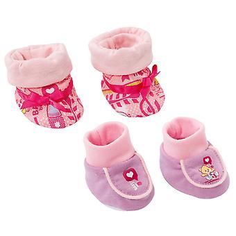 Zapatos de bebé nacido (se suministra un par)