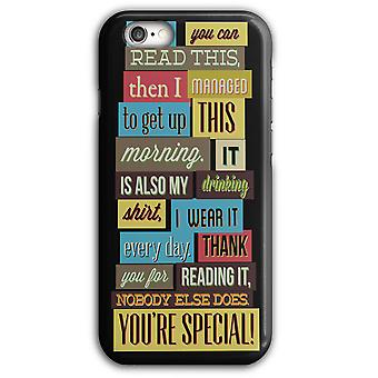 Special Drink Shirt Everyday iPhone Case 5/5S 6/6S 6Plus/6SPlus | Wellcoda