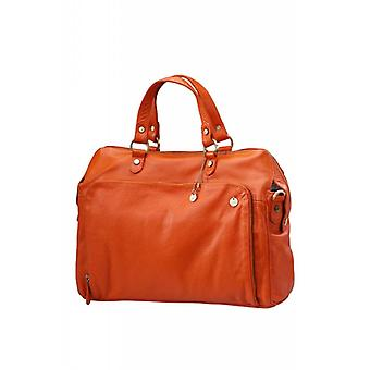 Dr Amsterdam Hand/shoulder bag Mint Tangerine Tango Orange