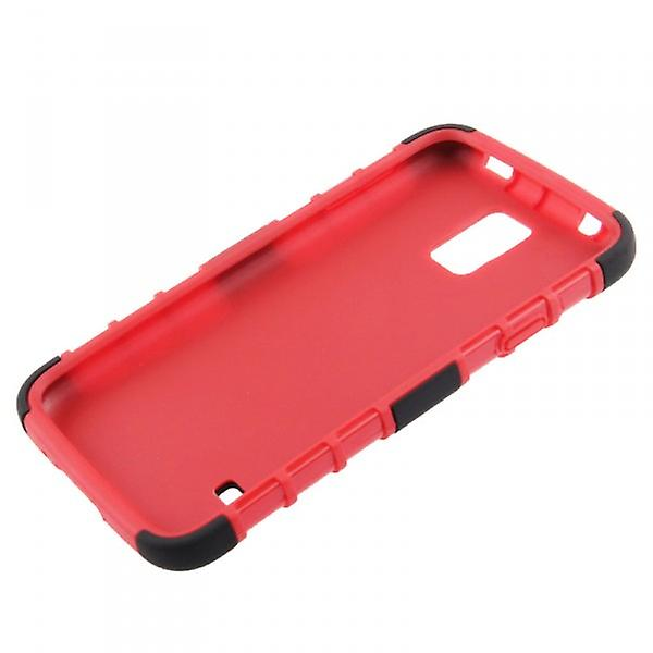 Hybrid case 2 piece SWL robot red for Samsung Galaxy S5