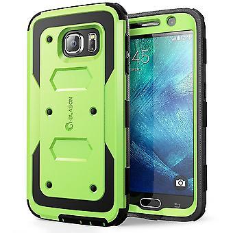 Jag-Blason Samsung Galaxy S6 fall - Armorbox serien fallet - grön
