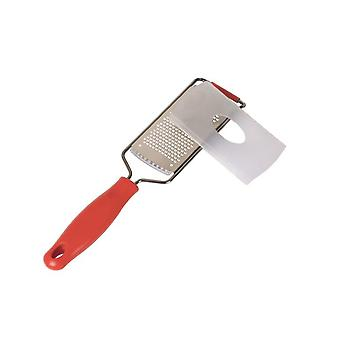 Dexam Fine Grater with Red Handle