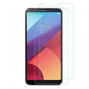 100% Genuine LCD Film Guard Tempered Glass Screen Protector for LG G6 x 2