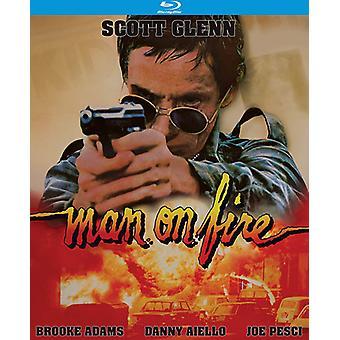 Mannen på eld (1987) [Blu-ray] USA import