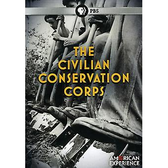 Civile Conservation Corps [DVD] USA importerer
