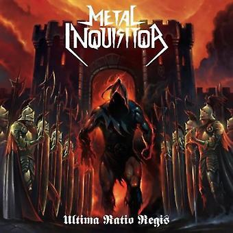 Metal Inquisitor - Ultima Ratio Regis [CD] USA importerer