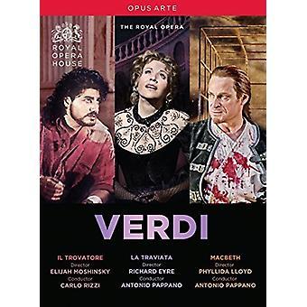 Verdi: Il Trovatore / La Traviata / Macbeth [DVD] USA import