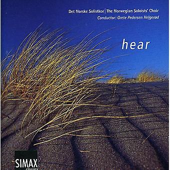 Norske solister kor - høre [CD] USA importerer