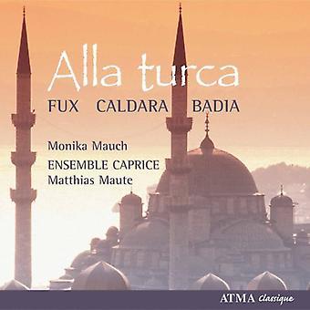 Fux/Badia/Caldara - Alla Turca [CD] USA import