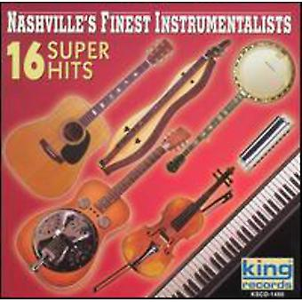Nashville feinste Instramentals - 16 Super Hits [CD] USA import