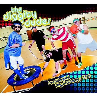 Diggity Dudes - Presidential fysisk Fitness Test [CD] USA importerer