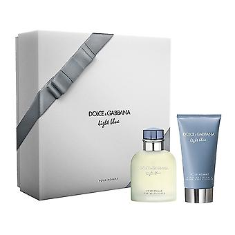 Dolce & Dolce Gabbana & Gabbana Light Blue Pour Homme 75ml EDT Spray / 75ml Aftershave-Balsam