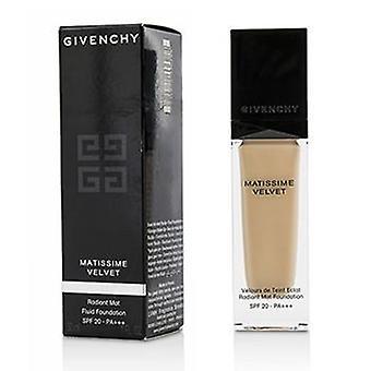 Givenchy Matissime Velvet Radiant Mat Fluid Foundation SPF 20 - #02 Mat Shell - 30ml/1oz
