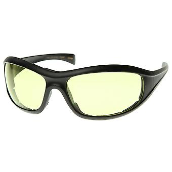 Large Riding Lens Padded Goggles Protective Eyewear Glasses Safety/Active/Sports