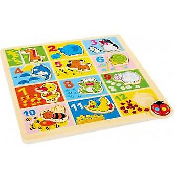 Legler Puzzle Meter  animals from the Zoo  (Toys , Preschool , Puzzles And Blocs)