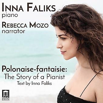 Bach J.S. / Faliks / Mozo - Polonaise-Fantaisie: The Story of a Pianist [CD] USA import